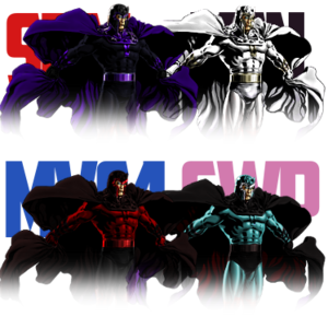 Magneto palette