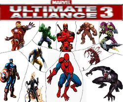 Marvel Ultimate Alliance 3 Title Cover
