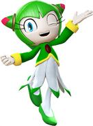 Sonic Super Battle Cosmo Render