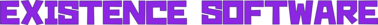 Existence Software logo 2017 sideways