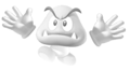 Ghost goomba with hands