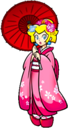 Peach in Japanese attire KCMEX2009