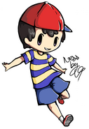 Back to school ness mother 2 earthbound by shinymawile-d6kpxv1