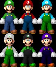 Luigi Palette
