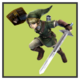 JSSB character preview icon - Link