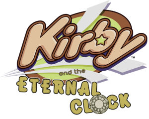 Kirby and the Eternal Clock logo
