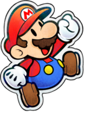 Paper Mario Emerald Backgroundless