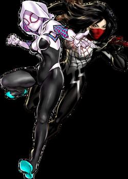 Spider-GwenandSilk