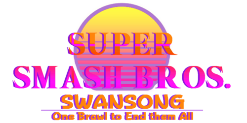 Super Smash Bros. Swansong logo by Poker