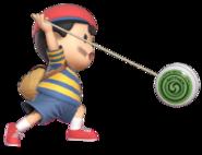 0.9.Ness swing his Yo-Yo forward