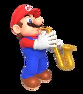 Mario playing the saxophone render by nintega dario dd1hxg6-pre