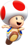Toad - Mario Kart X