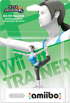 Amiibo - SSB - Wii Fit Trainer - Box
