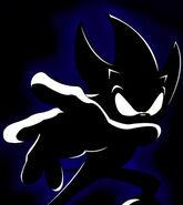 Dark Super Sonic by TheWax