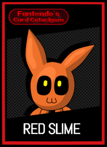 FCC Red Slime Card