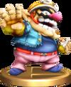 Smash Wario Trophy SSBRiot