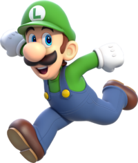762px-Luigi Artwork - Super Mario 3D World