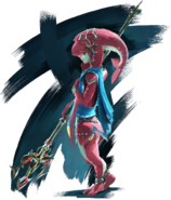 BotW Mipha Artwork