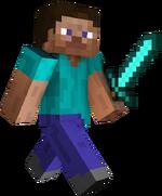 Diamond Sword Steve