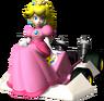 Peach Artwork - Mario Kart DS