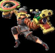 Smash Ultimate Min Min alt 7