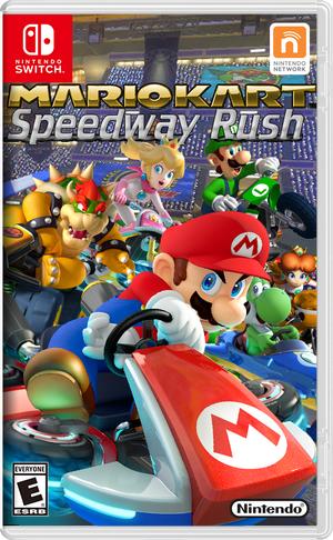 Speedway Rush Boxart