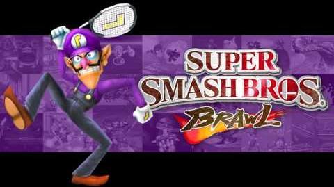 Waluigi Pinball (Super Smash Bros
