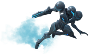4.5.Dark Samus Floating forward