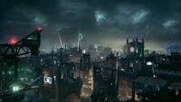 Batmanarkhamknightgothamcity