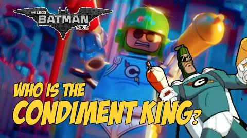 LEGO Batman Movie - Who is the Condiment King?