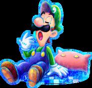 623px-Sleepy Luigi Artwork - Mario & Luigi Dream Team