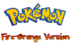 Pokemon Fire-Orange Version Logo