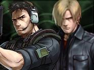 Chris and Leon