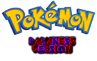 Pokemon Darkness Version Logo