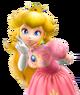 Princess peach melee portrait render by machriderz-dasn2qk