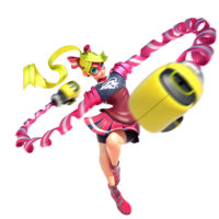Ribbon Girl - ARMS