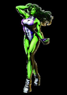 She hulk png render by mrvideo vidman-dafqbo7