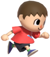 0.6.Red Villager Running