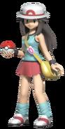 1.1.Pokemon Trainer Leaf Standing