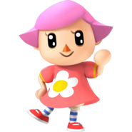 Girl Villager SSB4