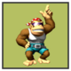 JSSB character preview icon - Funky Kong
