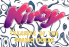 Kirby Treasure of the Cosmic Ocean Logo