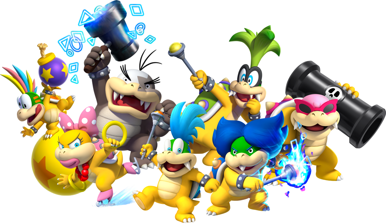 Koopalings Fantendo Nintendo Fanon Wiki Fandom Powered By Wikia