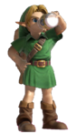 1.6.Young Link Drinking Lon Lon Link
