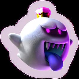 King Boo Artwork - Luigi's Mansion Dark Moon