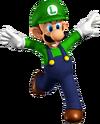 Luigi Artwork - Super Mario 64 DS