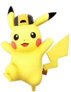 Pikachu YellowHatAlt Ultimate