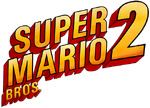 Super Mario Bros. 2 logo DSSB