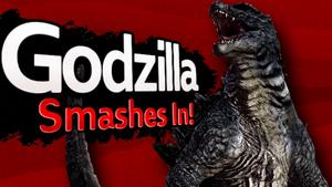 Super Smash Bros Godzilla 2014