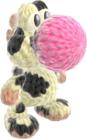 Yoshi's Woolly World design - Moo Moo Yoshi